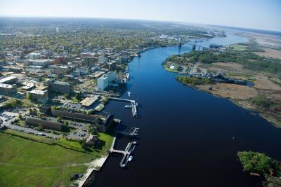 Come Kayak il fiume Cape Fear in Wilmington