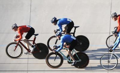 Allenamento della forza per pista ciclismo