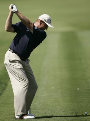 Come far cadere mia spalla nello Slot sul mio Swing Golf?