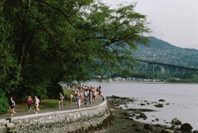 Vancouver, percorsi di Jogging