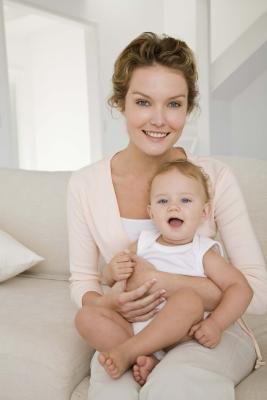 Fasi di sviluppo in bambini di 5 mesi