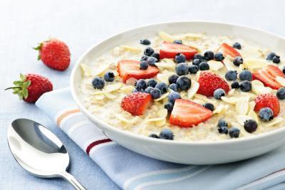 Lista della spesa per gli alimenti basso contenuto di grassi e basso contenuto calorico