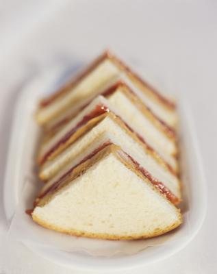 Grammi di zucchero nel pane bianco