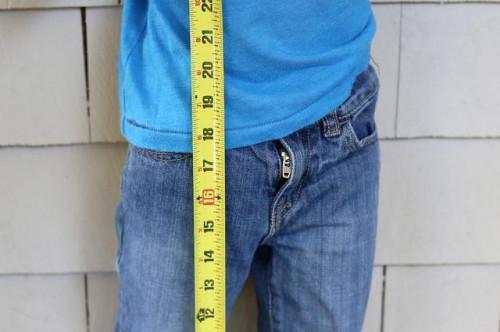 Come misurare un bambino per una bici