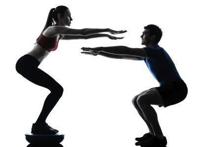 20 Rep squat per perdita di peso