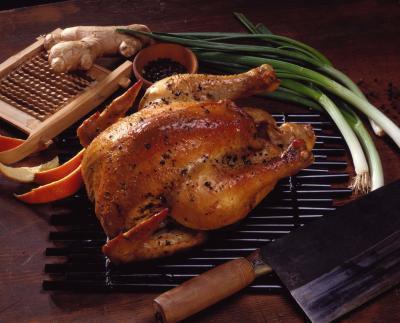 Come cucinare un pollo intero in un forno di NuWave