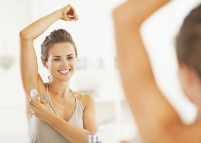 Come utilizzare antitraspiranti