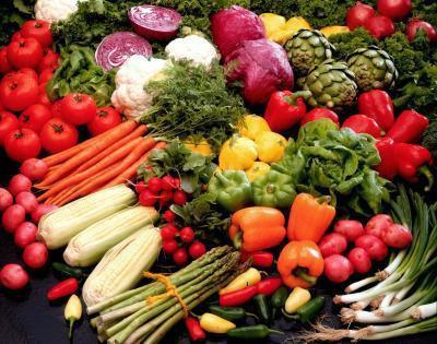 Piano di Menu dieta Raw Food