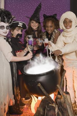 Attività di lordo Halloween per bambini
