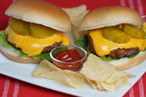 Si può cuocere hamburger?