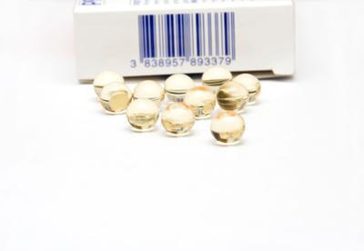 Su capsule di vitamina A per la pelle