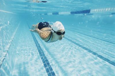 Come fare nuoto occhiali nebbia-libero