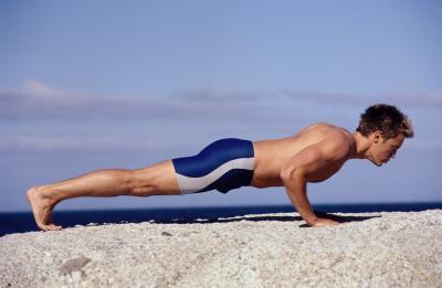 Quello che i muscoli vengono utilizzati in esercizi di push-up?