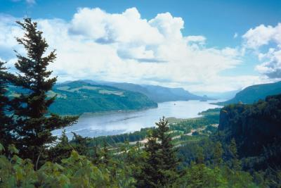 Pernottamento Backpacking in Columbia Gorge