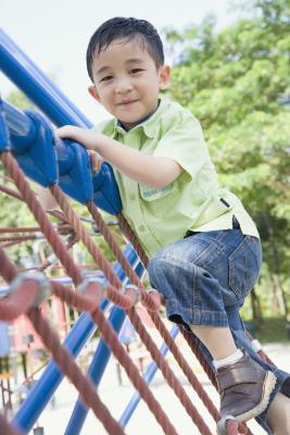 È il pisello ghiaia sicuro per i bambini?