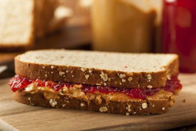Burro di arachidi & gelatina panini sono sani?