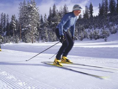 Esercizi di ginnastica di sci di fondo