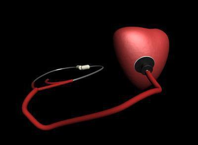 Un coagulo di sangue nella camera di cuore