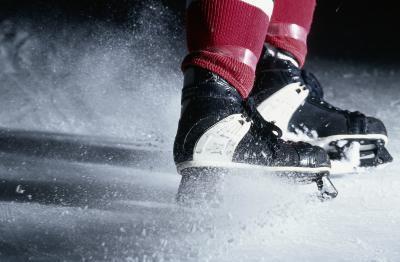 Come allegare Hockey Skate cornici