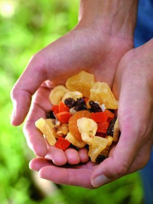 Come secco frutta surgelata