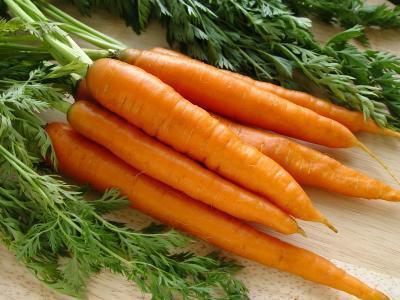 Mais e carote rivolgete allo zucchero dopo sono mangiati?