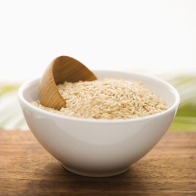 Fatti di nutrizione di riso integrale
