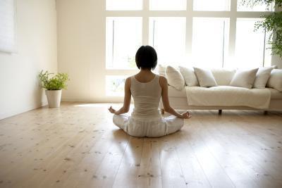 In esecuzione prima di prendere Bikram Yoga