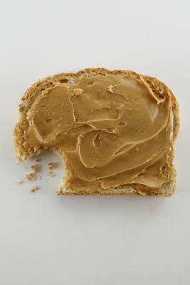 Nutrizione in panini al burro di arachidi