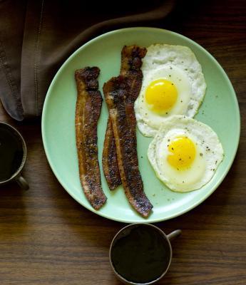 Pancetta, uova & dieta di pompelmo
