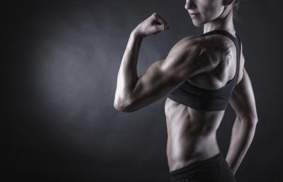 Female Bodybuilder dieta