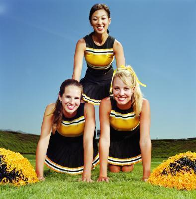 Vantaggi di fare la cheerleader per ragazze