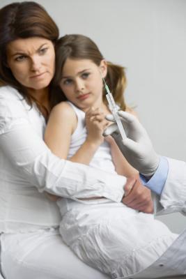 Come aiutare un bambino con una paura dell'ago