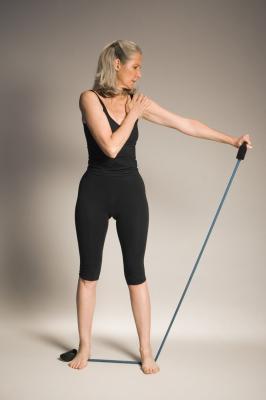 Esercizi di riabilitazione per parzialmente strappato un muscolo deltoide medio