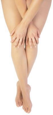 Pigmentazione scura in gomiti, caviglie e interno coscia