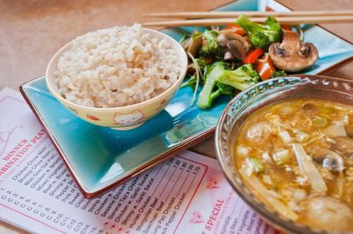 Sano cibo cinese Menu