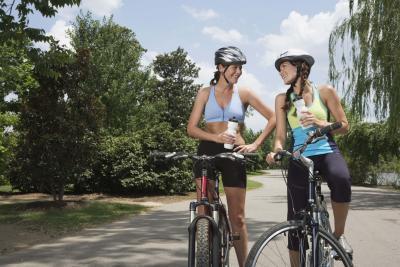 Quante calorie vengono bruciate in un giro in bicicletta di 20 minuti?