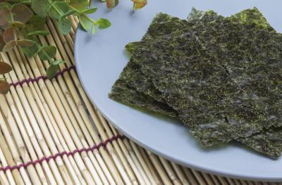È alga secca buono per voi?