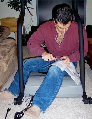 Come modificare il vostro tapis roulant da km/h in MPH