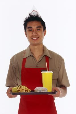 Un elenco di Gluten Free Fast Food