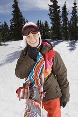 Fatti di snowboard per bambini