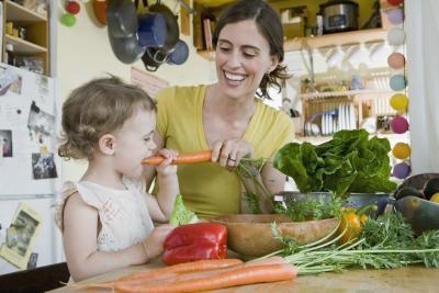 Che cosa sono i più piccoli a mangiare?