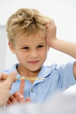 Febbre alta e corse impulso di riposo per i bambini