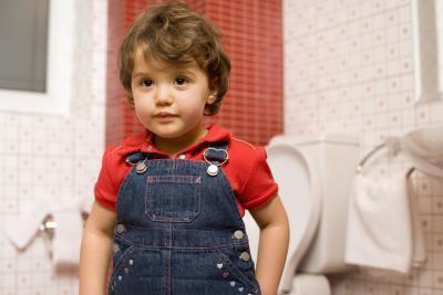 Procedure di servizi igienici per bambini in età prescolare