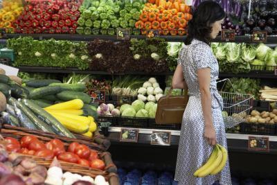Percentuale di acqua in frutta e verdura
