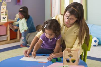 Attività di asilo nido per bambini