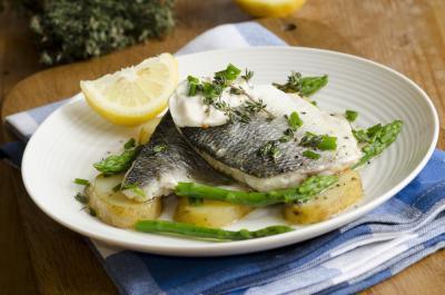 Sono sano mangiare pesce Bass?