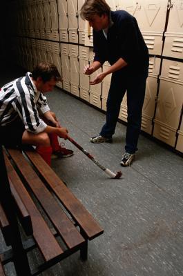 Allenamento con i pesi per i giocatori di Hockey su prato
