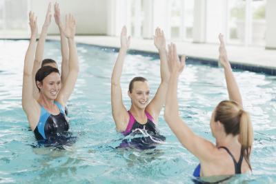 Come insegnare aerobica in acqua