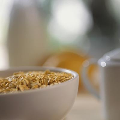 Informazioni nutrizionali cereali di vettore