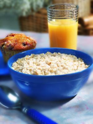 Dieta con farina d'avena per il pranzo